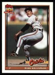 1991 Topps #296   Mark Williamson Front Thumbnail