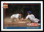 1991 Topps #437   Doug Dascenzo Front Thumbnail