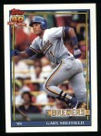 1991 Topps #68   Gary Sheffield Front Thumbnail