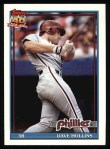 1991 Topps #264   Dave Hollins Front Thumbnail