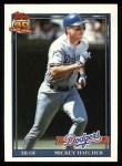 1991 Topps #152  Mickey Hatcher  Front Thumbnail