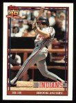1991 Topps #47   Brook Jacoby Front Thumbnail