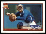 1991 Topps #317  Mike Fitzgerald  Front Thumbnail