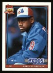 1991 Topps #283   Marquis Grissom Front Thumbnail
