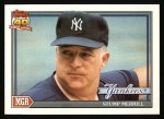 1991 Topps #429  Stump Merrill  Front Thumbnail