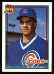 1991 Topps #254  Shawn Boskie  Front Thumbnail