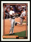 1992 Topps #492   Mike Devereaux Front Thumbnail