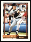 1992 Topps #242   Mike Mussina Front Thumbnail