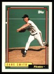 1992 Topps #345   Zane Smith Front Thumbnail