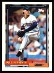 1992 Topps #293  Mike Henneman  Front Thumbnail