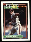 1992 Topps #407   -  Bryan Harvey All-Star Front Thumbnail