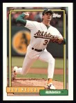 1992 Topps #285   Bob Welch Front Thumbnail