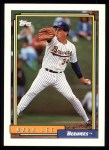 1992 Topps #384  Mark Lee  Front Thumbnail