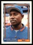1992 Topps #148  Anthony Young  Front Thumbnail