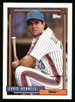 1992 Topps #376   Chris Donnels Front Thumbnail