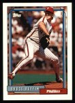 1992 Topps #307  Bruce Ruffin  Front Thumbnail