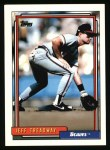 1992 Topps #99   Jeff Treadway Front Thumbnail