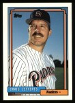 1992 Topps #41   Craig Lefferts Front Thumbnail