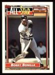 1992 Topps #392   -  Bobby Bonilla All-Star Front Thumbnail