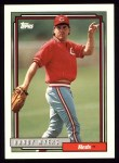 1992 Topps #24  Randy Myers  Front Thumbnail