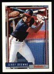 1992 Topps #219  Jerry Browne  Front Thumbnail