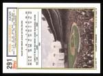1992 Topps #291  Phil Garner  Back Thumbnail