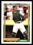 1992 Topps #234   Terry Steinbach Front Thumbnail
