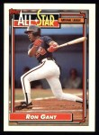 1992 Topps #391  All-Star  -  Ron Gant Front Thumbnail
