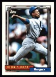 1992 Topps #428  Dennis Boyd  Front Thumbnail