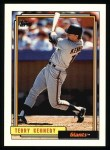 1992 Topps #253   Terry Kennedy Front Thumbnail