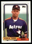 1992 Topps #241   Gerald Young Front Thumbnail