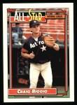 1992 Topps #393  All-Star  -  Craig Biggio Front Thumbnail