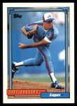 1992 Topps #423  Jeff Fassero  Front Thumbnail