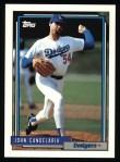 1992 Topps #363  John Candelaria  Front Thumbnail