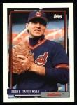 1992 Topps #427   Eddie Taubensee Front Thumbnail