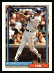 1992 Topps #140  Mark Grace  Front Thumbnail