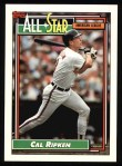 1992 Topps #400  All-Star  -  Cal Ripken Front Thumbnail