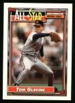 1992 Topps #395  All-Star  -  Tom Glavine Front Thumbnail