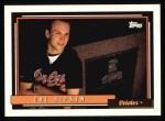 1992 Topps #40   Cal Ripken / Lou Gehrig Front Thumbnail