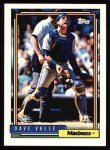 1992 Topps #294  Dave Valle  Front Thumbnail