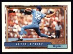 1992 Topps #281  Kevin Appier  Front Thumbnail