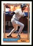 1992 Topps #60   Tony Fernandez Front Thumbnail