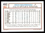 1992 Topps #462   Rich Rodriguez Back Thumbnail