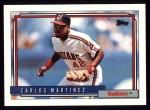 1992 Topps #280  Carlos Martinez  Front Thumbnail