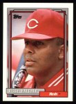 1992 Topps #432  Billy Hatcher  Front Thumbnail