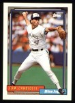 1992 Topps #38   Tom Candiotti Front Thumbnail