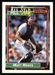 1992 Topps #404  All-Star  -  Matt Nokes Front Thumbnail