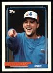 1992 Topps #443  Spike Owen  Front Thumbnail