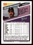 1993 Topps #593   Brett Merriman Back Thumbnail