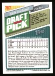 1993 Topps #767  Rich Ireland  Back Thumbnail